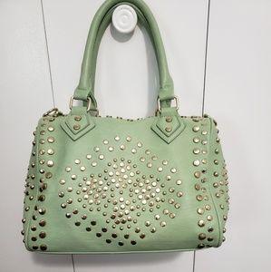 MMS mint satchel purse
